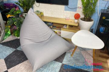 Sắm ghế lười hạt xốp đa năng cho chung cư