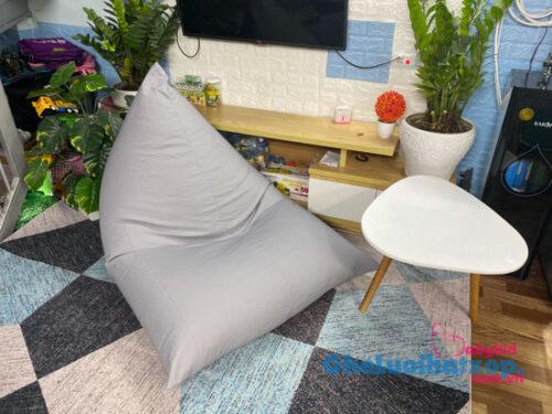 Ghế hạt xốp dáng thuyền vải kaki chun kích thước 1m1x1m5 GL T014 (4)